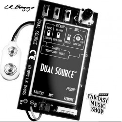 L.R. Baggs DS-ELE 下弦枕+麥克風雙系統主動式拾音器