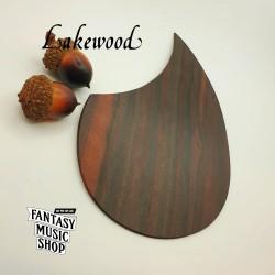 黑檀木自黏原木護板 刷板 | 德國Lakewood原廠