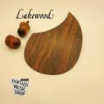 Ziricote 自黏原木護板 刷板 | 德國Lakewood原廠
