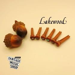 Snakewood 鮑魚貝點 弦釘組 | 德國Lakewood原廠
