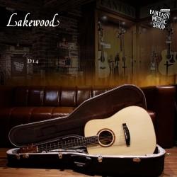 Lakewood D14 全單板 民謠吉他