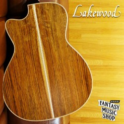 Lakewood M-18C custom (#28600) 全單板手工民謠吉他