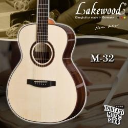 Lakewood M-32 全單板手工民謠吉他