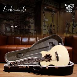 Lakewood M32C  全單板 民謠吉他