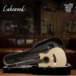 Lakewood M-32C 全單板手工民謠吉他 (31608)