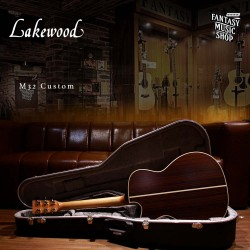 Lakewood M32C 神奇符號 全單板 民謠吉他