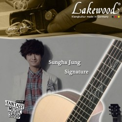 Lakewood 鄭晟河(Sungha Jung)簽名琴