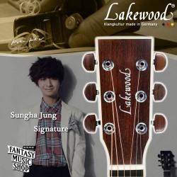 Lakewood 鄭晟河 Sungha Jung 客製款簽名琴