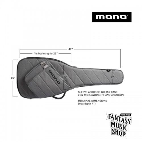 MONO Sleeve系列專業吉他琴袋   M80-SAD-ASH 吉他袋 琴袋(灰)