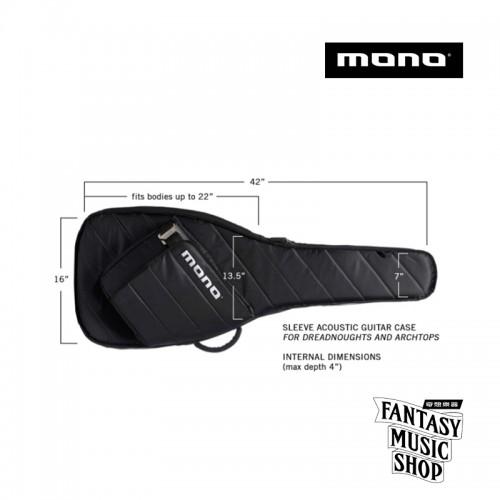MONO Sleeve系列專業吉他琴袋   M80-SAD-BLK 吉他袋 琴袋(黑)