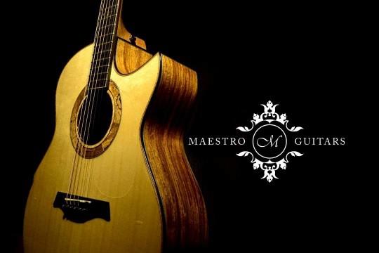 Maestro特殊木料款抵台