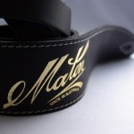 Maton 真皮吉他背帶| 黑色款:澳洲原廠