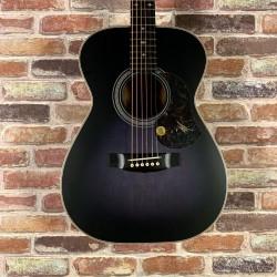 Maton EBG808 ARTIST 黑 全單板 木吉他