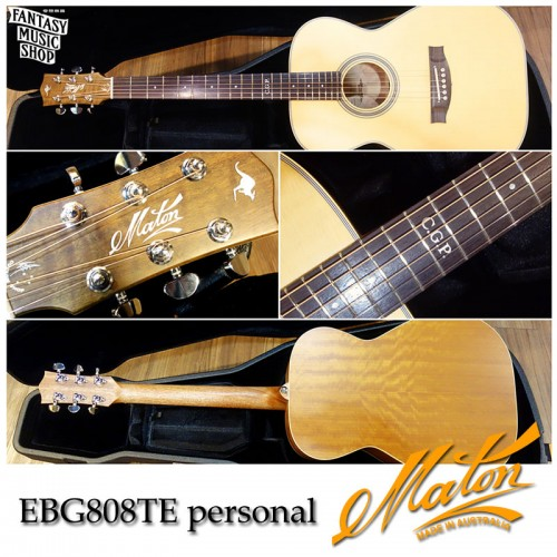 Maton EBG808TE Tommy Emmanuel personal Custom Shop | 單製琴師全手工客製吉他
