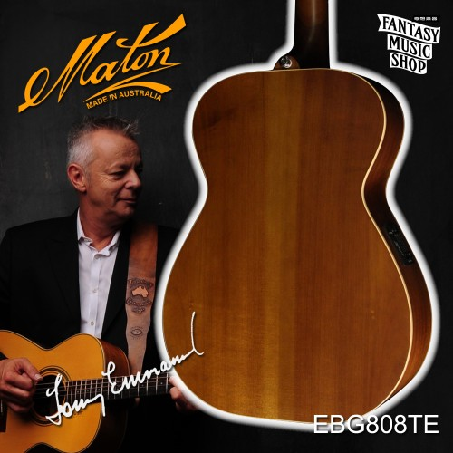 Maton EBG808TE  澳洲製全單板民謠吉他 ( Tommy Emmanuel Model )