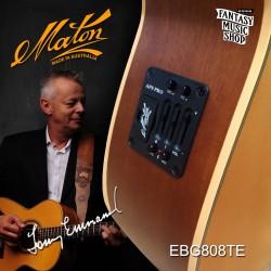 Maton EBG808TE  澳洲製全單板民謠吉他 | Tommy Emmanuel Model