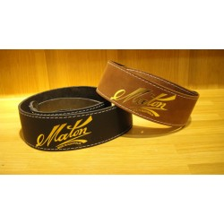 Maton 真皮吉他背帶| 棕色款:澳洲原廠