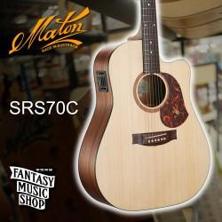 Maton SRS70C 澳洲製全單板民謠吉他