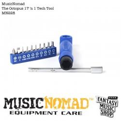 大章魚起子17合1工具 | Music Nomad (#MN228)