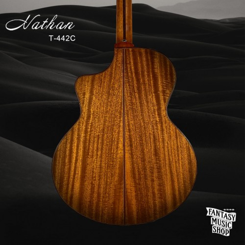 Nathan T-442C 面單板民謠吉他 | 駱駝inlay