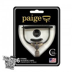 Paige Clik Capo 彈放 民謠吉他款 - 美國製 不傷琴復古式移調夾