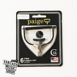Paige Clik Capo 彈放古典吉他款 - 美國製 不傷琴復古式移調夾