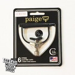 Paige Clik Capo 彈放電吉他款 - 美國製 不傷琴復古式移調夾