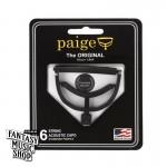 """美國製 Paige """"Original款"""" Capo - 順手好用不傷琴復古式移調夾(黑色)"""