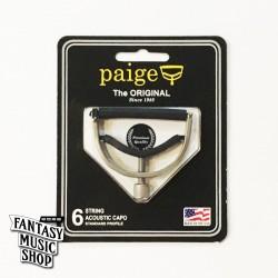 Paige Original Capo - (復古鎳銀色) 順手好用不傷琴復古式移調夾 | 美國製