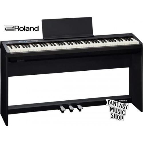 Roland FP-30 數位鋼琴 整套 | (黑色) 88鍵含腳架,琴椅,譜架,延音踏板,防塵套