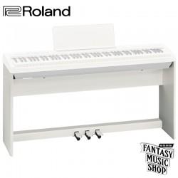 Roland FP-30專用 KSC-70+KPD-70 數位鋼琴腳架組 (白色)