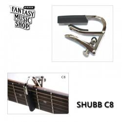 美國製 SHUBB C8 新款滾輪式特殊移調夾 ( 夾五弦 )