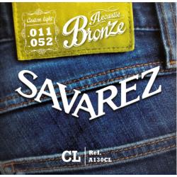 Savarez 法國經典民謠吉他弦 | 黃銅A130CL | 011-52