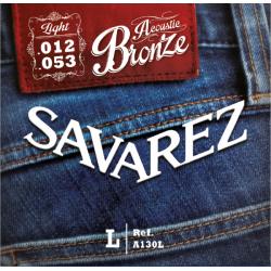 Savarez 法國經典民謠吉他弦 | 黃銅A130L | 012-53