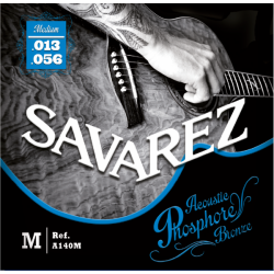 Savarez 法國經典民謠吉他弦 | 磷青銅 紅銅A140M | 013-55