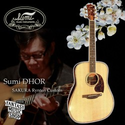 日本Sumi純手工高階吉他-岡崎倫典御用琴