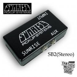 美國 Sunrise SB-2 (Stereo) 木吉他前級
