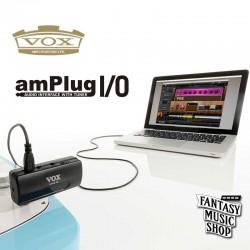 VOX amPlug I/O 電吉他專用USB錄音介面 可調音(適用於PC/MAC)