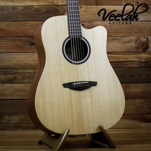 Veelah V1-DC 面單板民謠吉他