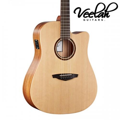 Veelah V1-DCE 面單板   插電民謠吉他
