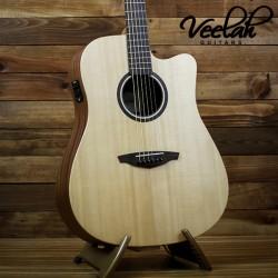 Veelah V1-DCE 面單板 | 插電民謠吉他