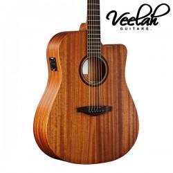 Veelah V1-DMCE 面單板 | 插電民謠吉他