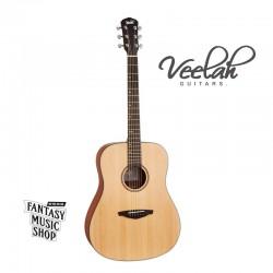 Veelah VDSM雲杉面板 | 經濟款入門合板民謠吉他