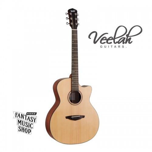 Veelah VGACSM雲杉面板 | 經濟款入門缺角合板民謠吉他