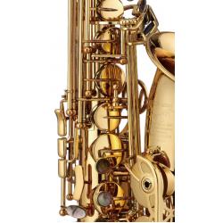 韋笙堡Weissenberg 薩克斯風A-600GL | 調性Eb | 金漆塗裝