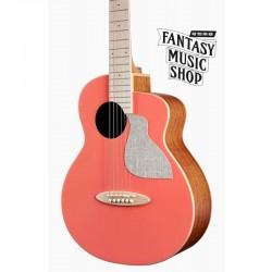 aNueNue Bird MC10-LC 活珊瑚橘面單旅行吉他 | 另有LCE插電版可選