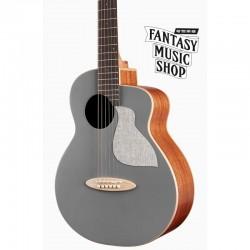 aNueNue Bird MC10-QS 寧靜灰面單旅行吉他 | 另有QSE插電版可選