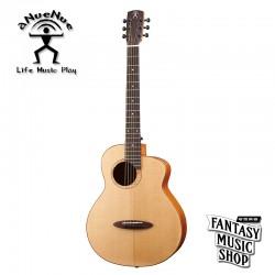 aNueNue M100EWT 全單板插電旅行吉他