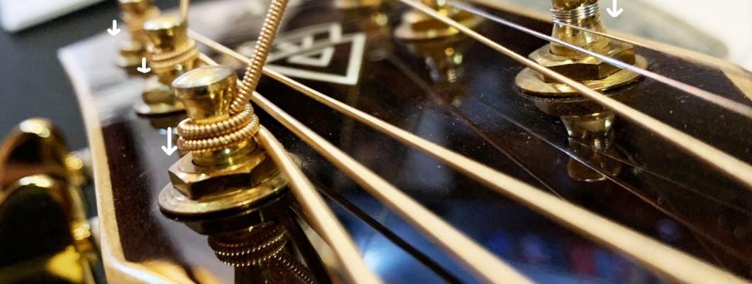 民謠吉他換弦很簡單
