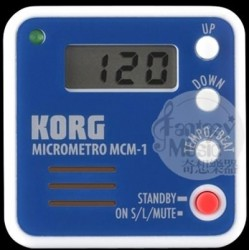 Korg MCM-1 隨身攜帶夾式可愛餅乾節拍器 (起標即直購價~顏色隨機出貨)